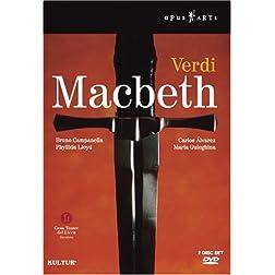 Verdi - Macbeth / Alvarez, Guleghina, Scandiuzzi, Berti, Alberdi, Campanella, Barcelona Opera