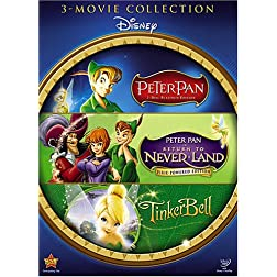 Peter Pan and Tinker Bell 3-DVD Gift Set