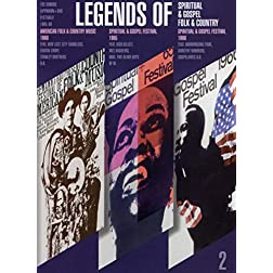 Legends Of (2) - Spiritual, Gospel & Folk & Country