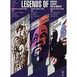 Legends Of (2) - Spiritual, Gospel & Folk & Country