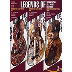 Legends Of (3) - The American Folk Blues Festivals