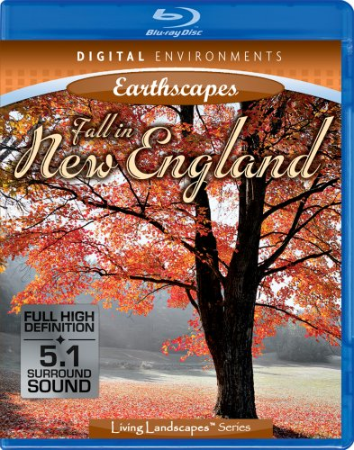 Living Landscapes: Fall in New England [Blu-ray]
