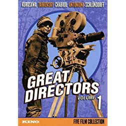 Great Directors: Volume 1 (Dersu Uzala / The Mirror / Les Bonnes Femmes / Il Grido / Circle of Deceit) (5D)