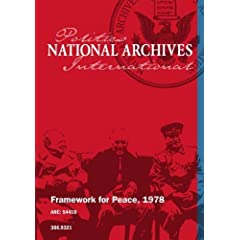 Framework for Peace, 1978
