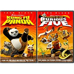 Kung Fu Panda Two - Pack (Kung Fu Panda Widescreen Edition + Secrets of the Furious Five)