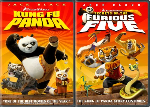 Kung Fu Panda Two - Pack (Kung Fu Panda Full Screen Edition + Secrets of the Furious Five Widescreen)