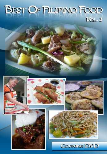 Best of Filipino Food Vol. 1 - Cooking DVD