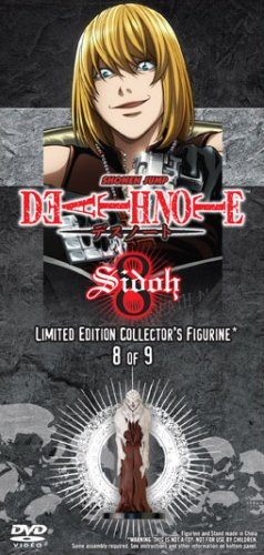 Death Note Vol. 8 with Limited Edition Sidoh Figurine