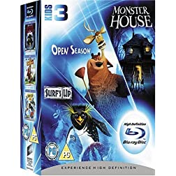 Monster House/Open Season/Surf's Up [Blu-ray]