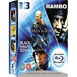 Rambo/Tears of the Sun [Blu-ray]