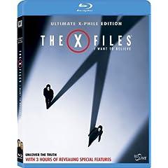 The X-Files: I Want to Believe (+ Digital Copy) [Blu-ray]
