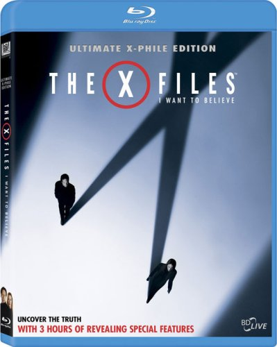The X-Files: I Want to Believe (+ Digital Copy) [Blu-ray]