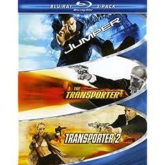 Action Blu-ray 3-Pack (Jumper / Transporter / Transporter 2) [Blu-ray]