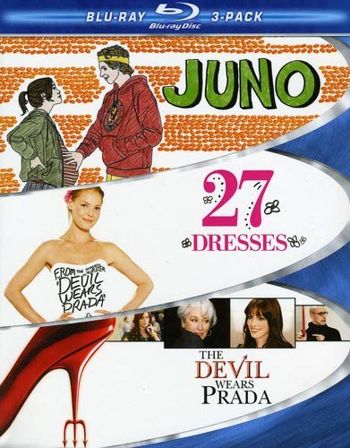 Chick Flick Blu-ray 3-Pack (Juno / 27 Dresses / The Devil Wears Prada) [Blu-ray]