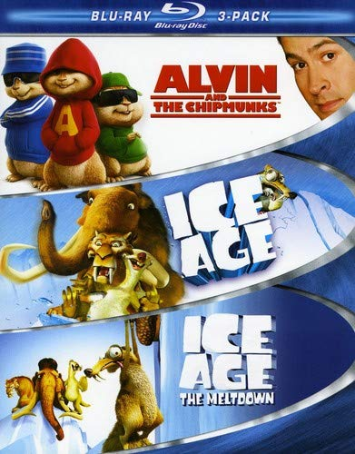 Family Blu-ray 3-Pack (Alvin and the Chipmunks / Ice Age / Ice Age 2) [Blu-ray]