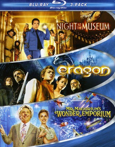 Kid Blu-ray 3-Pack (Night at the Museum / Eragon / Mr. Magorium's Wonder Emporium) [Blu-ray]