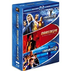 Marvel Blu-ray 3-Pack (Fantastic Four / Fantastic Four - Rise of the Silver Surfer / Daredevil) [Blu-ray]