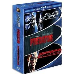 Muscle Blu-ray 3-Pack (AVP Alien vs. Predator / Predator / Commando) [Blu-ray]
