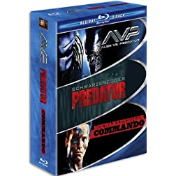 Muscle Blu-ray 3-Pack (AVP Alien vs. Predator / Predator / Commando) [Blu-ray]