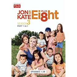Jon & Kate Plus 8 The Complete 3rd Season (8 DVD Set)