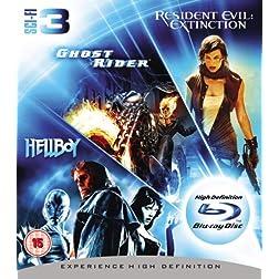 Ghost Rider/Resident [Blu-ray]
