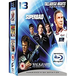 Talladega Nights/Superbad/Walk [Blu-ray]