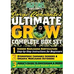 HIGH TIMES presents Jorge Cervantes Ultimate Grow Complete Box Set
