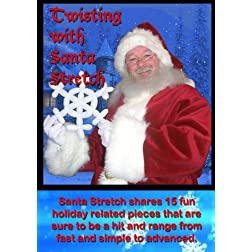 Twisting with Santa Stretch