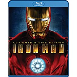 Iron Man (Ultimate Two-Disc Edition) [Blu-ray]