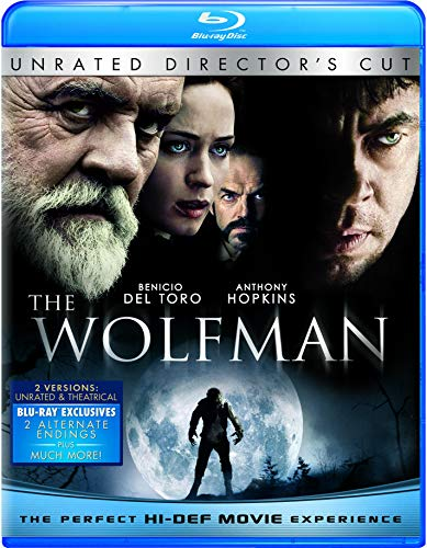 The Wolfman (2-Disc Unrated Director's Cut) [Blu-ray]
