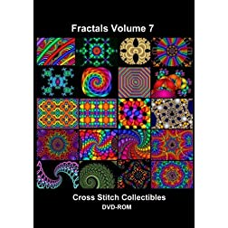 Fractals Cross Stitch Vol. 7