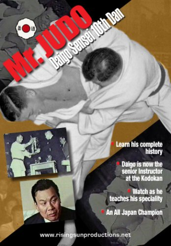 Diago Sensei <B>Mr. Judo</B> Kodokan 10th Dan