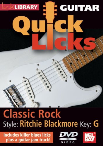 Guitar Quick Licks - Ritchie Blackmore: Classic Rock, Key of G