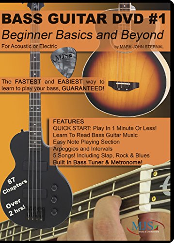 Bass Guitar DVD #1: Beginner Bassics and Beyond