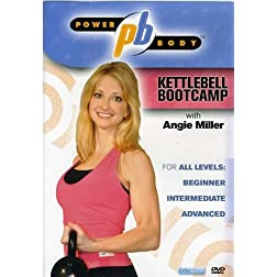 Power Body: Kettlebell Bootcamp with Angie Miller (kettle bell)
