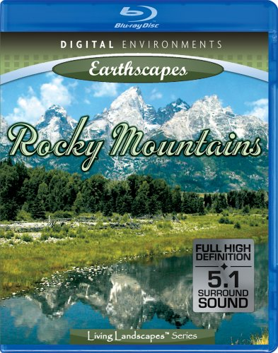 Living Landscapes: Rocky Mountains [Blu-ray]