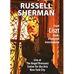Russell Sherman: Franz Liszt - Transcendental Studies (Sherman)
