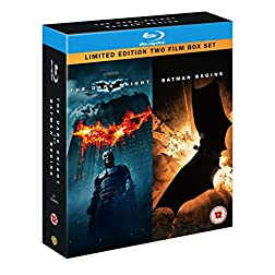 Dark Knight/Batman Begins [Blu-ray]