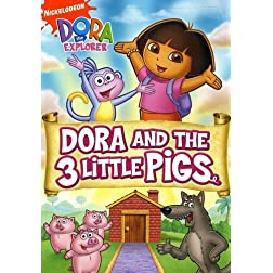 Dora the Explorer - Dora and The Three Little Pigs (Fullscreen)