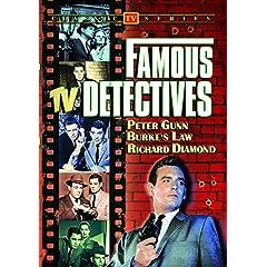Famous TV Detectives (Peter Gunn / Burke's Law / Richard Diamond)