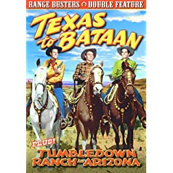 Range Busters: Texas To Bataan (1942) / Tumbledown Ranch In Arizona (1941)