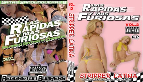 Stripper Latina Combo dvd