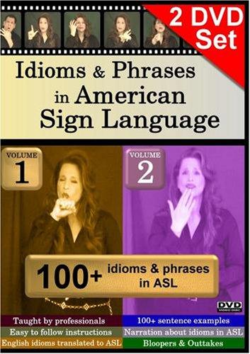 Idioms & Phrases in American Sign Language, Volumes 1-2 Set