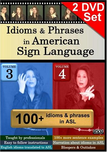Idioms & Phrases in American Sign Language, Volumes 3-4 Set
