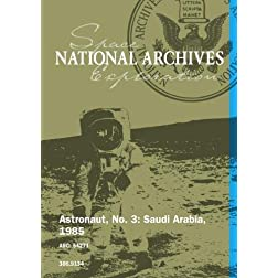 Astronaut, No. 3: Saudi Arabia, 1985