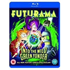 Futurama Into the Wild Green Yonder [Blu-ray]