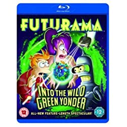 Futurama Into the Wild Green Yonder [Blu-ray]