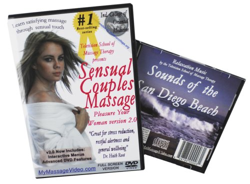 The Ultimate Massage Seduction Kit: Sensual Couples Massage, Pleasure Your Woman & Relaxation Sounds on CD v2.0 (DVD/CD combo pack)--interactive menus, advanced features