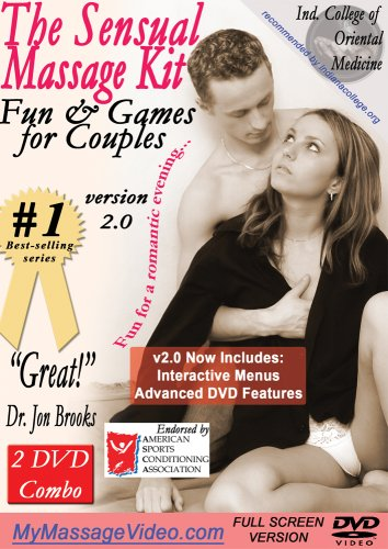 The Total Romance Kit: Sensual Couples Massage, Pleasure Your Woman DVD & Pleasure Your Man DVD plus Relaxation Sounds on CD v2.0 (2 DVD/1 CD combo pack) --interactive menus, advanced features