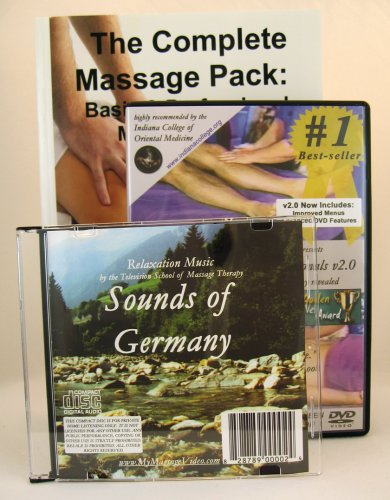 Professional Massage Therapy Value Pack:  Massage Therapy for Professionals DVD & Complete Massage Basic & Professional Massage Workbook with Free Relaxation ... pack) --interactive menus, advanced features